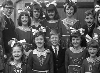Riverdance was a long way into the future when this group of young Irish dancers from Loughrea posed for the camera in 1967.